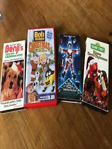 Christmas VHS Tapes