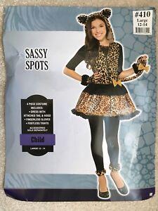"""Halloween  - """"Sassy Spots"""" kitten kids costume"""