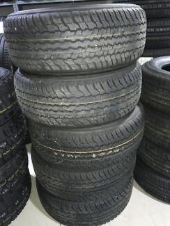 "285/60r18 18"" original tyres for land cruiser"