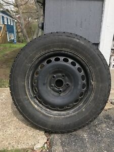 Winter Tires with steel Rims 215/65 R16