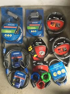 Heavy duty locking flexible cables and ratchet straps