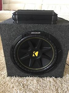 Car audio set.