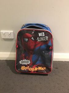 Spider man luggage bag suitcase Bolwarra Maitland Area Preview
