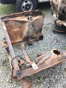 1966-67 Chevy ll acadian front clip