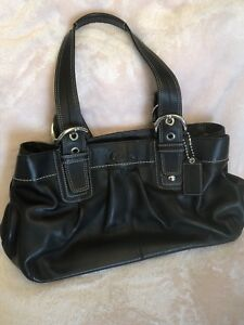 Coach purse - black