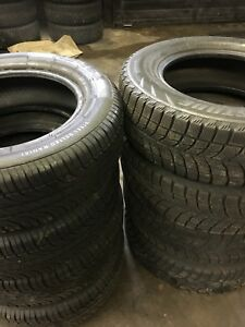 Full set of winter and summer tires