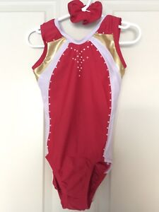 Gymnastic suit for girl size 6 (4-5 years old)