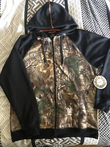 Real tree camo sweater - new with tags !