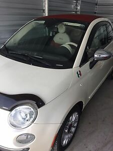 Fiat 500 Lounge 2012 convertible