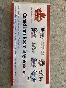 Canad inn voucher stay