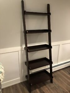Ladder shelf $60