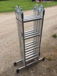 Aluminum Articulating ladder 17'