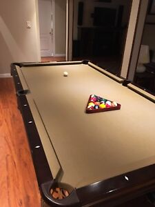 Professional Billiards Table/ Ping Pong