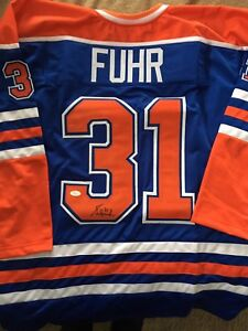 Signed Oilers Jerseys, $175 with COA