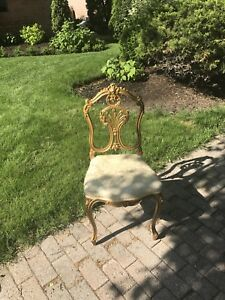 Gold French Chair
