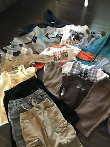 Large lot of boys clothing - size 6-12mnths