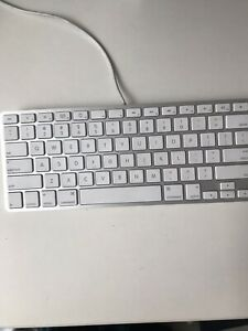 Apple Wired Keyboard  $65