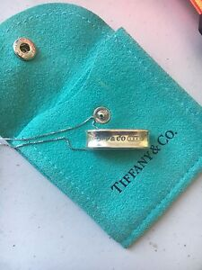 Authentic Tiffany & Co. Ring Necklace
