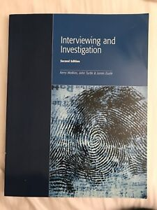 Interviewing and investigation