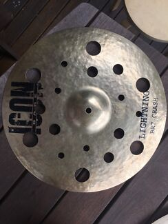 Icon dark - lightning bright crash 16""
