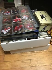 Lots de cartes hockey
