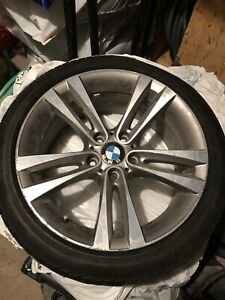 OEM BMW 3 and 4 series wheels and tire