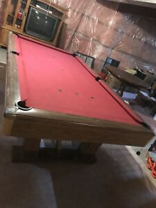 8x5 Slate Pool Table