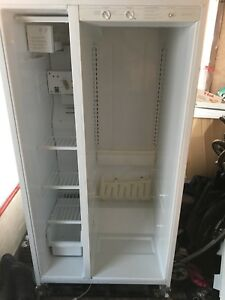 Double door fridge. Working condition