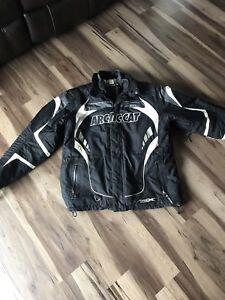 Men's arctic cat snowmobile jacket (L)