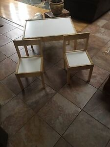 IKEA children's table and chair set