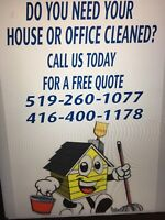 House (student rental) Office Restaurant cleaning