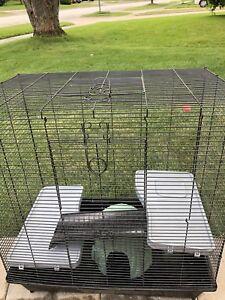 Hamster Gerbil Guinea Pig Rabbit cage