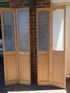 Solid Corinthian bi-fold doors Scoresby Knox Area Preview