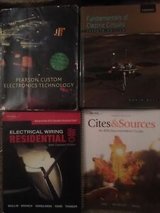 Sault College Electrical Engineering Textbooks