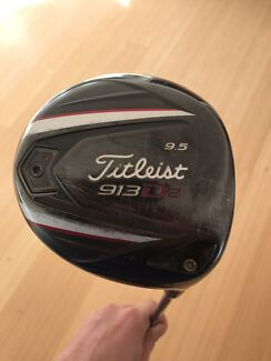 Titleist 913 D2  x stiff shaft