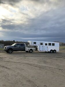 2016 Exiss 3 Horse Slant All Aluminum Horse Trailer