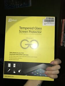 Tempered glass iPad cover -brand new