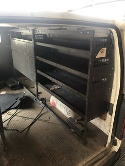 Toyota hiace caddy shelvings 05-2017