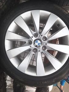 BMW rims 17 inch off 2013 BMW 328i 225/50 r17