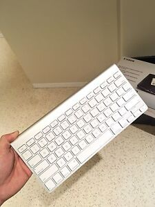 Apple Bluetooth keyboard and Pad