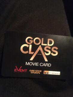 $100 Gold Class Event Cinema Gift Card