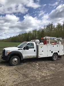 2013 f-550 service truck