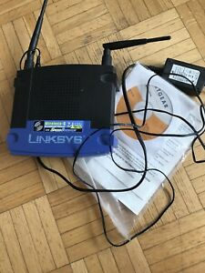 LINKSYS wireless -G 2.4 HZ wifi