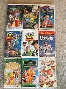 VHS - variety of titles
