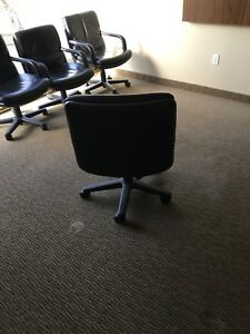 Leather Office/Meeting Chairs