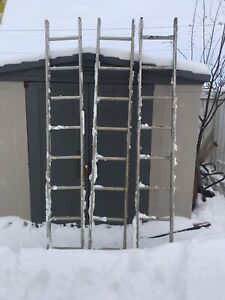3 ladders 8 foot for sale $30 each