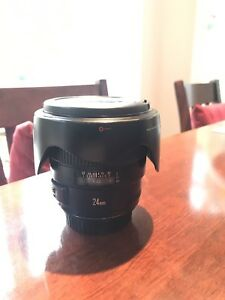 Canon EF 24mm F1.4 L series