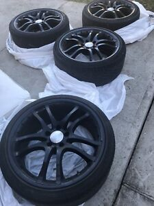 "19"" Brabus Bullit Black Arrow Rims"