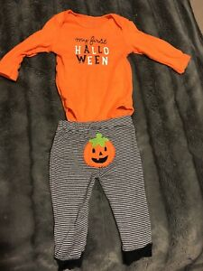 6 mo old Halloween 5 piece lot