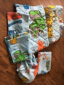 Bob the builder crib/toddler bedding